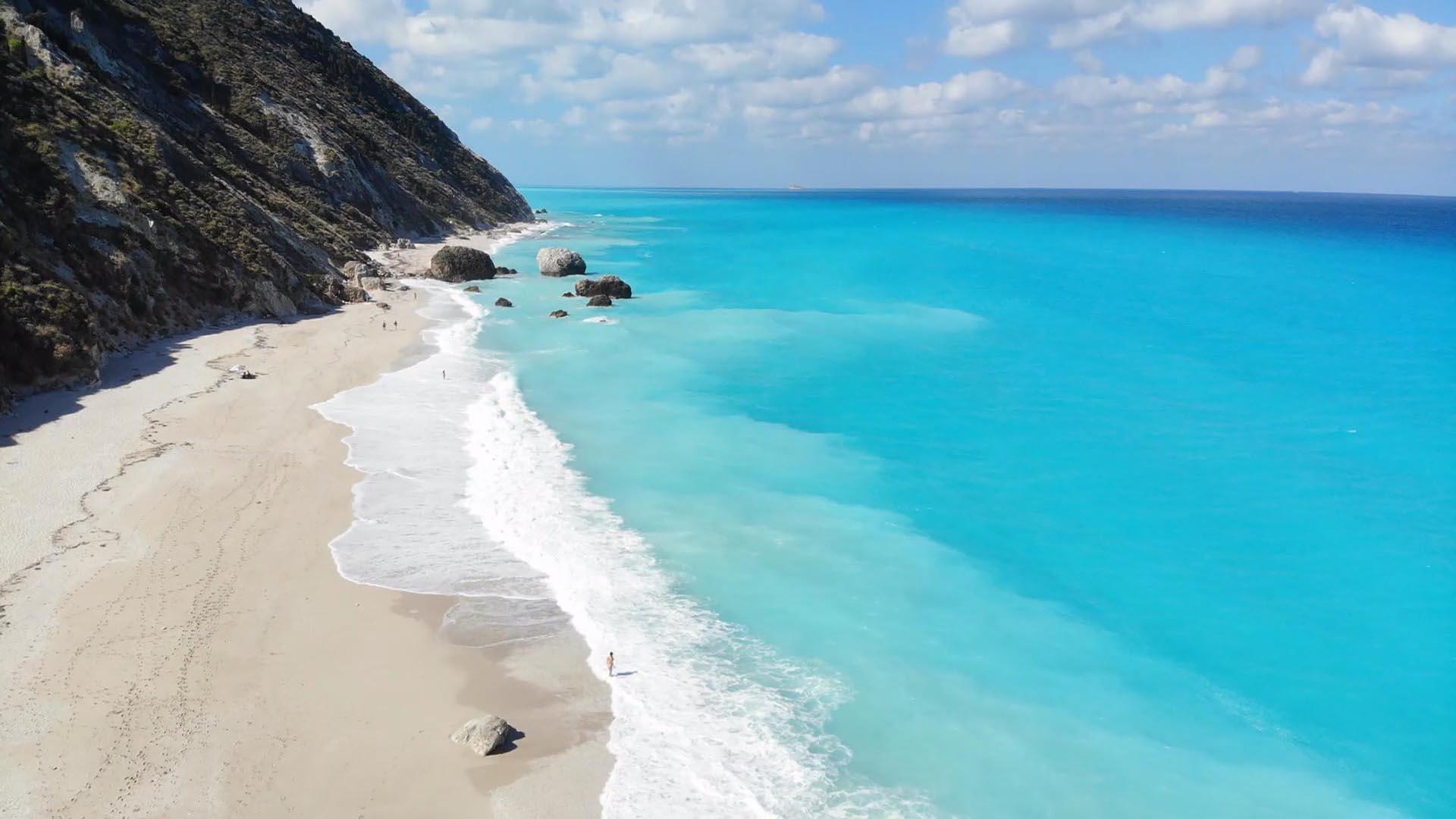 Apaggio Villas Lefkada Megalh Petra Beach