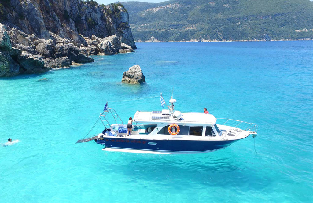 Daily Cruises in Ionian Sea Sofia Boat