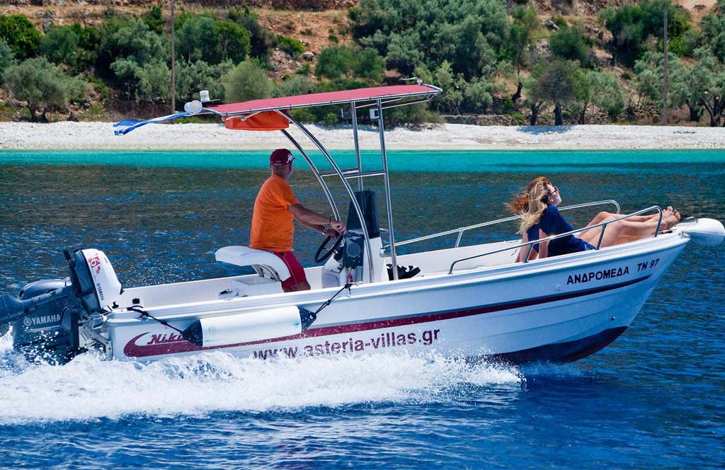 Rent a Boat in Meganisi Andromeda