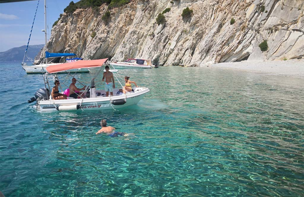 Rent a Boat in Meganisi Lyra