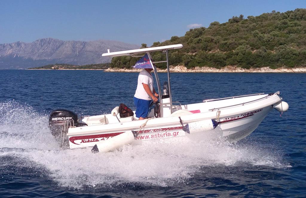 Rent a Boat in Meganisi Sofininaki